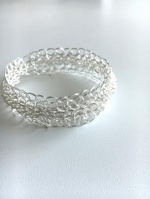 wire crochet / bracelet / sunnyside